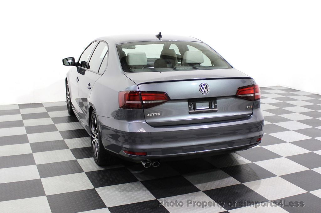 2016 Volkswagen Jetta Sedan CERTIFIED VW Jetta 1.8T Sport CAMERA SIRIUS NAVIGATION - 18259993 - 16