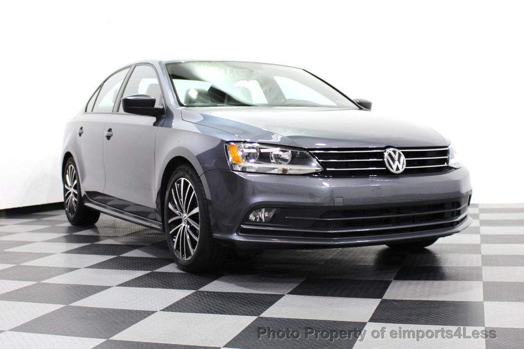 2016 Volkswagen Jetta Sedan CERTIFIED VW Jetta 1.8T Sport CAMERA SIRIUS NAVIGATION - 18259993 - 1