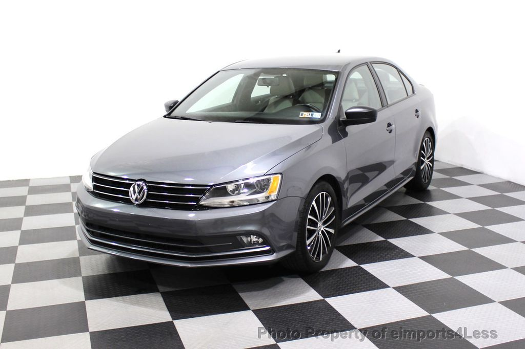 2016 Volkswagen Jetta Sedan CERTIFIED VW Jetta 1.8T Sport CAMERA SIRIUS NAVIGATION - 18259993 - 28