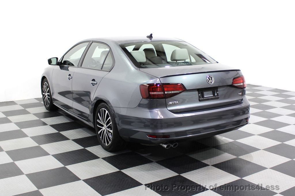 2016 Volkswagen Jetta Sedan CERTIFIED VW Jetta 1.8T Sport CAMERA SIRIUS NAVIGATION - 18259993 - 2