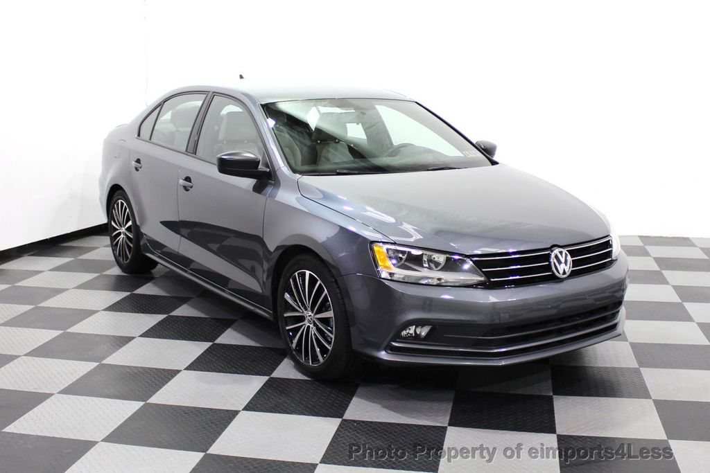 2016 Volkswagen Jetta Sedan CERTIFIED VW Jetta 1.8T Sport CAMERA SIRIUS NAVIGATION - 18259993 - 46