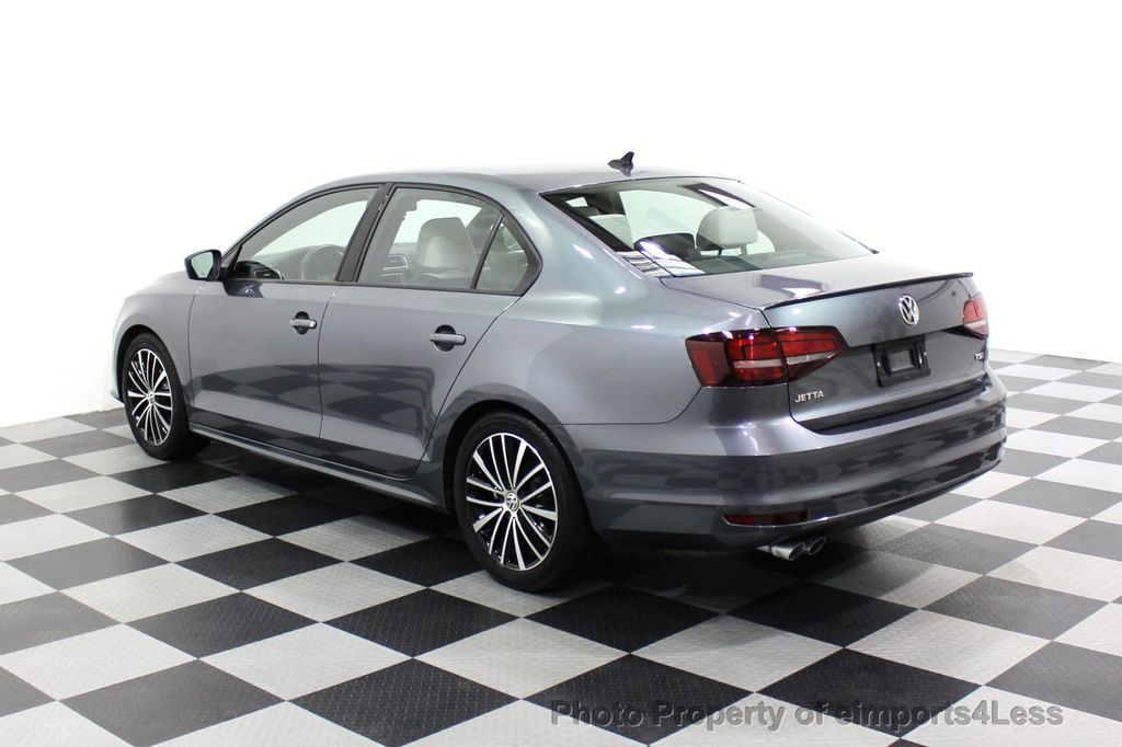 2016 Volkswagen Jetta Sedan CERTIFIED VW Jetta 1.8T Sport CAMERA SIRIUS NAVIGATION - 18259993 - 47