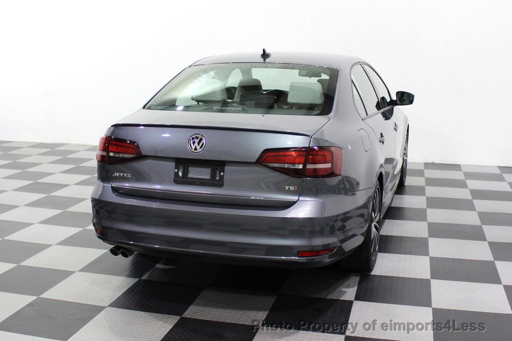 2016 Volkswagen Jetta Sedan CERTIFIED VW Jetta 1.8T Sport CAMERA SIRIUS NAVIGATION - 18259993 - 48
