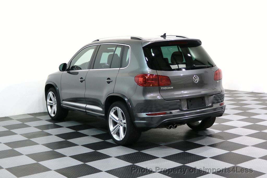 2016 Used Volkswagen Tiguan Certified Tiguan R Line At