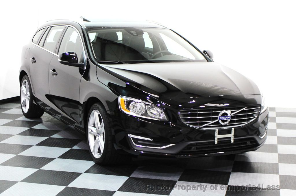 2016 Volvo V60 Certified T5 Premier Awd Wagon Blis Navigation 16112268 1