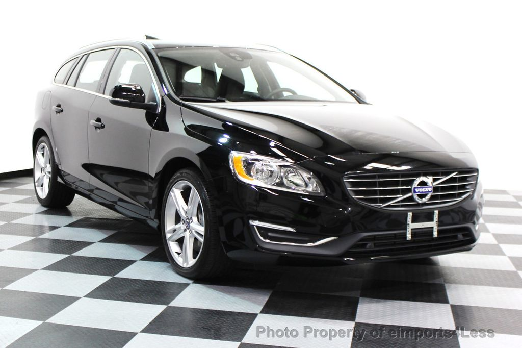2016 Volvo V60 Certified T5 Premier Awd Wagon Blis Navigation 16112278 1
