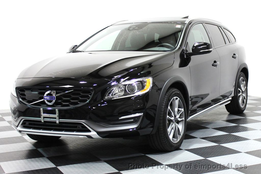 2016 Volvo V60 Cross Country Certified Awd Platinum Wagon 16138395 0