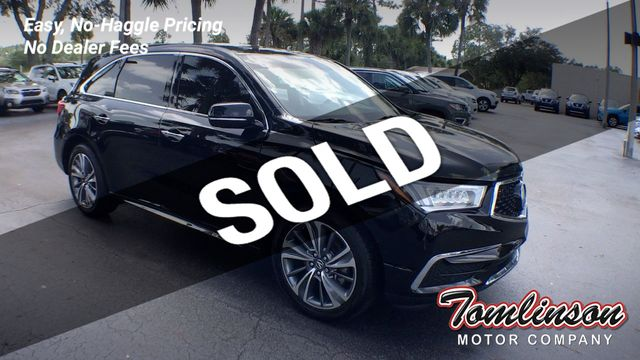 2017 Used Acura Mdx Sh Awd W Technology Package At Tomlinson Motor Company Serving Gainesville Fl And The Southeast Fl Iid 20170531