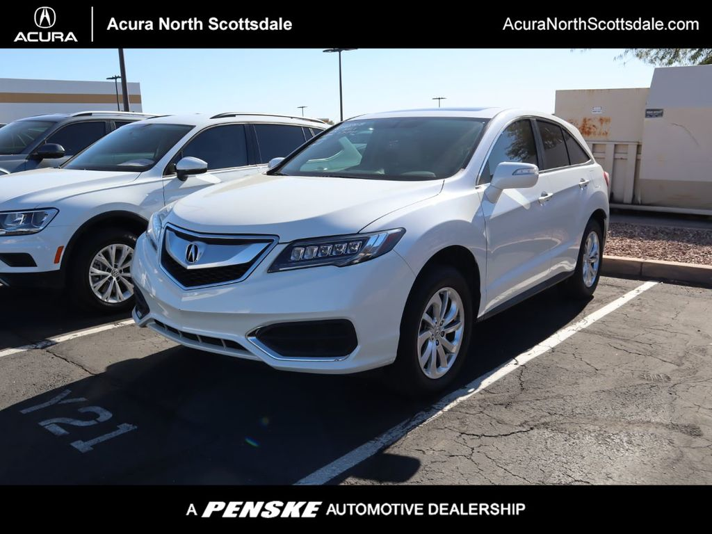 Certified Pre Owned 2017 Acura Rdx Awd Technology Pkg For Sale In Phoenix Arizona Ap3303 Penskecars Com