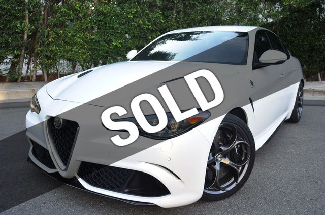 Alfa Romeo Los Angeles >> 2017 Alfa Romeo Giulia Quadrifoglio Rwd Sedan For Sale Los Angeles