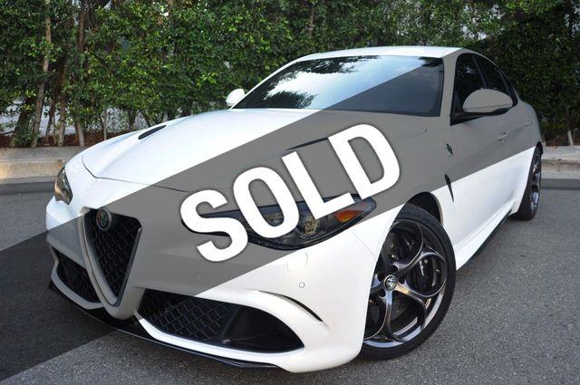 Used Alfa Romeo >> 2017 Used Alfa Romeo Giulia Quadrifoglio Rwd At Fleiner Automotive