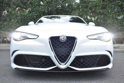 2017 Alfa Romeo Giulia Quadrifoglio RWD - Click to see full-size photo viewer