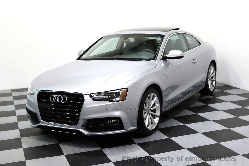2017 Audi A5 Coupe CERTIFIED A5 2.0T Quattro Sport AWD TECH CAMERA NAVI - 17397401 - 0