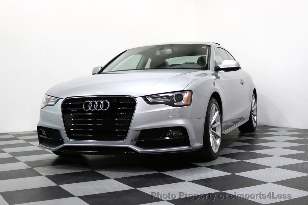 2017 Audi A5 Coupe CERTIFIED A5 2.0T Quattro Sport AWD TECH CAMERA NAVI - 17397401 - 14