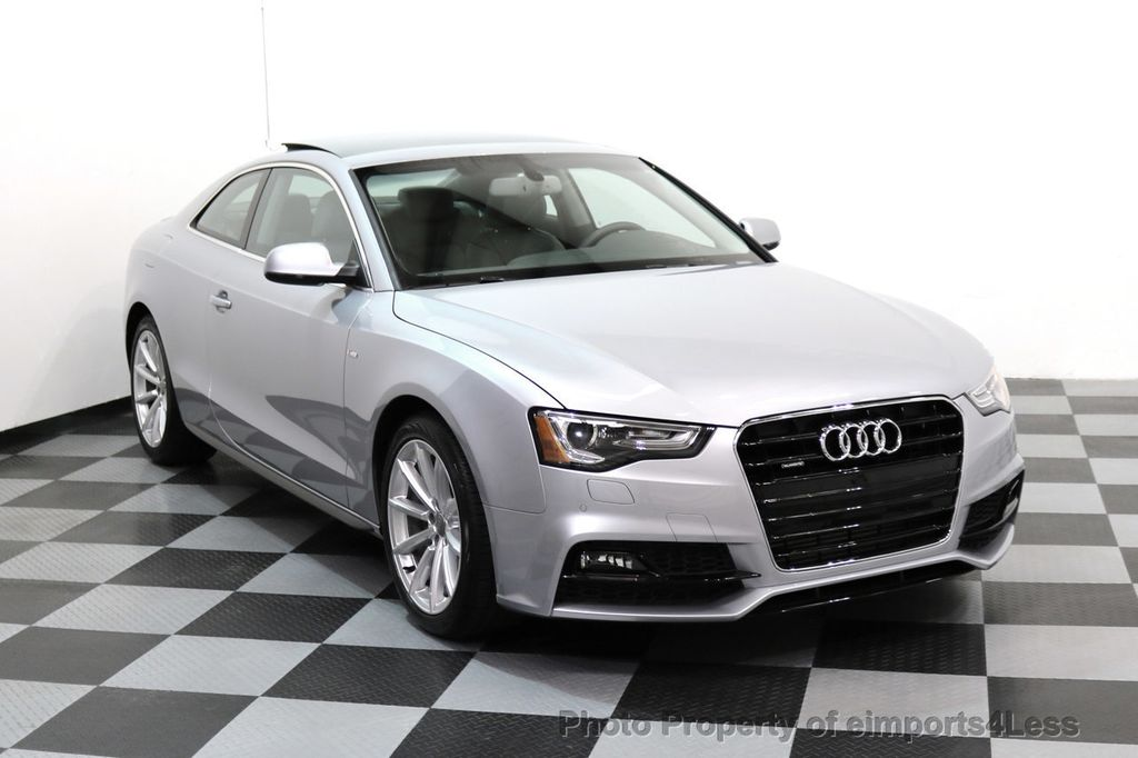 2017 Audi A5 Coupe CERTIFIED A5 2.0T Quattro Sport AWD TECH CAMERA NAVI - 17397401 - 1
