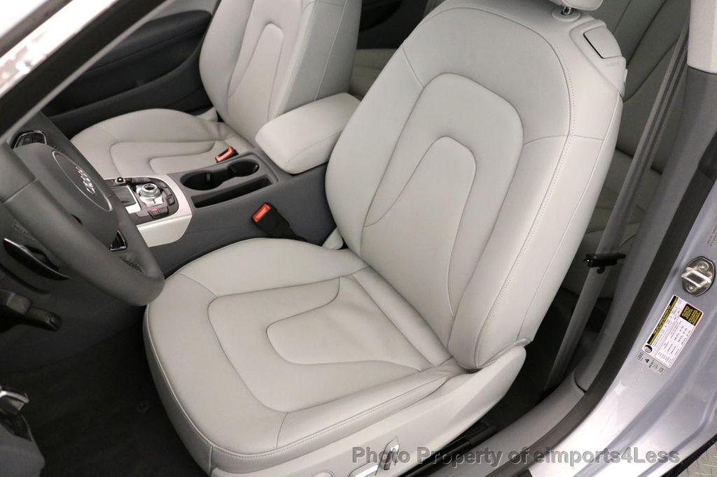 2017 Audi A5 Coupe CERTIFIED A5 2.0T Quattro Sport AWD TECH CAMERA NAVI - 17397401 - 22