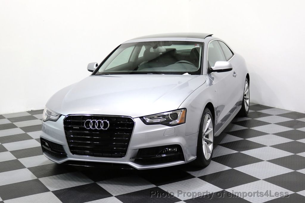 2017 Audi A5 Coupe CERTIFIED A5 2.0T Quattro Sport AWD TECH CAMERA NAVI - 17397401 - 27