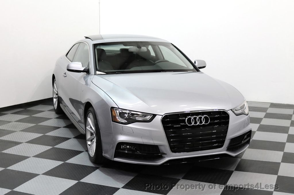 2017 Audi A5 Coupe CERTIFIED A5 2.0T Quattro Sport AWD TECH CAMERA NAVI - 17397401 - 28