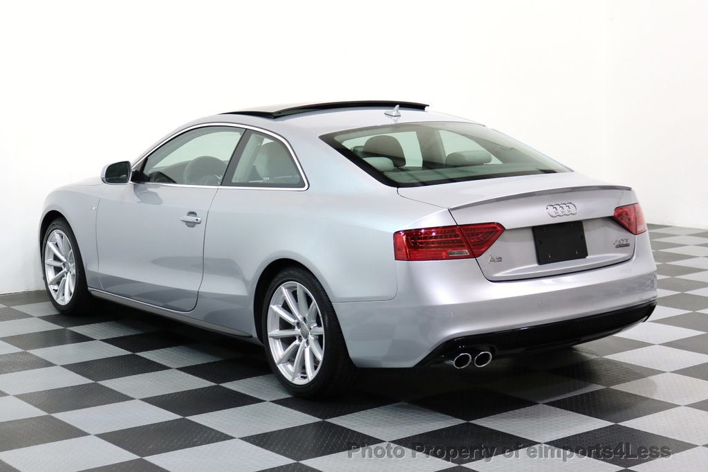 2017 Audi A5 Coupe CERTIFIED A5 2.0T Quattro Sport AWD TECH CAMERA NAVI - 17397401 - 29