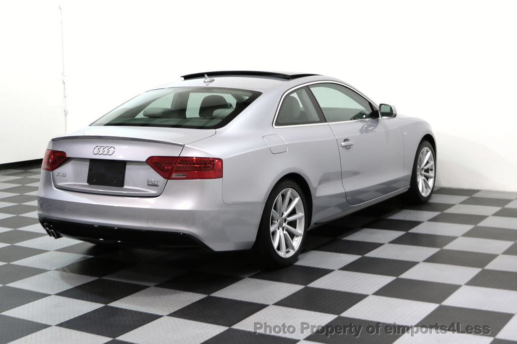 2017 Audi A5 Coupe CERTIFIED A5 2.0T Quattro Sport AWD TECH CAMERA NAVI - 17397401 - 31