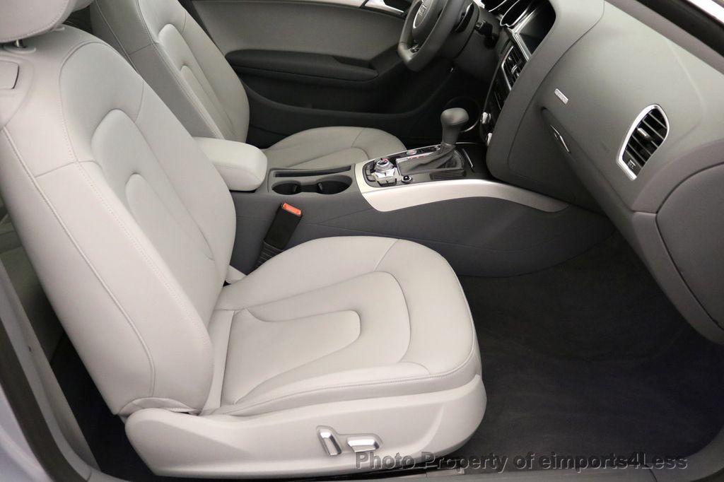2017 Audi A5 Coupe CERTIFIED A5 2.0T Quattro Sport AWD TECH CAMERA NAVI - 17397401 - 33