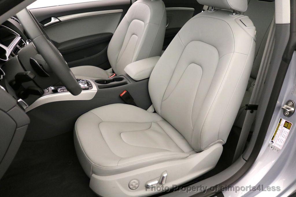 2017 Audi A5 Coupe CERTIFIED A5 2.0T Quattro Sport AWD TECH CAMERA NAVI - 17397401 - 34