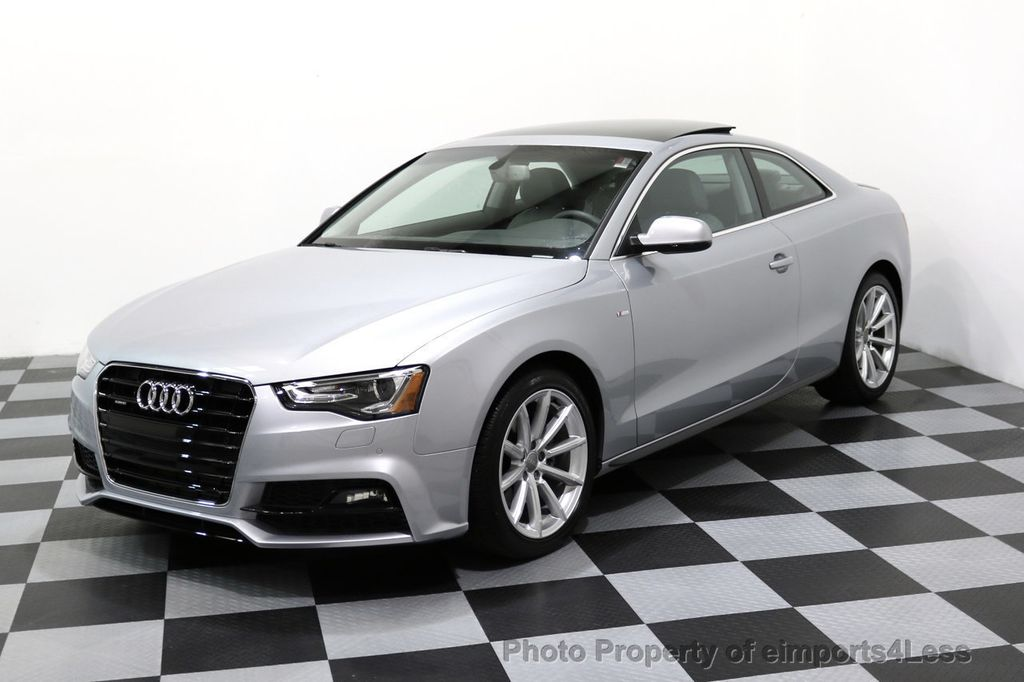 2017 Audi A5 Coupe CERTIFIED A5 2.0T Quattro Sport AWD TECH CAMERA NAVI - 17397401 - 42