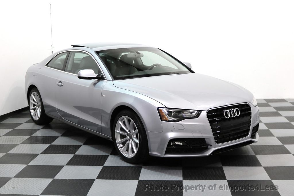 2017 Audi A5 Coupe CERTIFIED A5 2.0T Quattro Sport AWD TECH CAMERA NAVI - 17397401 - 43