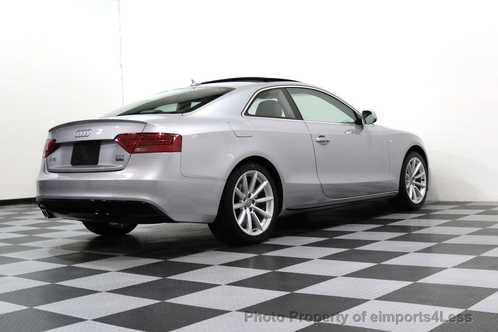 2017 Audi A5 Coupe CERTIFIED A5 2.0T Quattro Sport AWD TECH CAMERA NAVI - 17397401 - 45