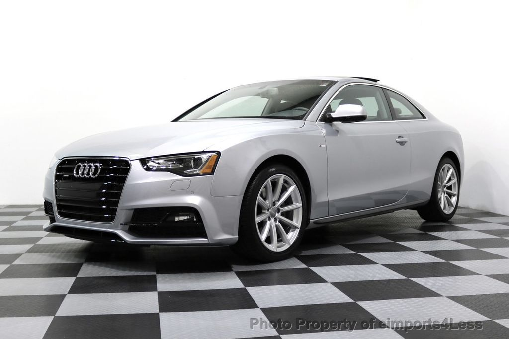 2017 Audi A5 Coupe CERTIFIED A5 2.0T Quattro Sport AWD TECH CAMERA NAVI - 17397401 - 46