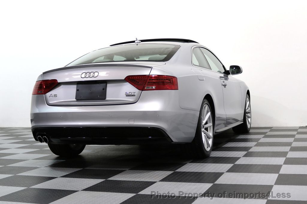 2017 Audi A5 Coupe CERTIFIED A5 2.0T Quattro Sport AWD TECH CAMERA NAVI - 17397401 - 48
