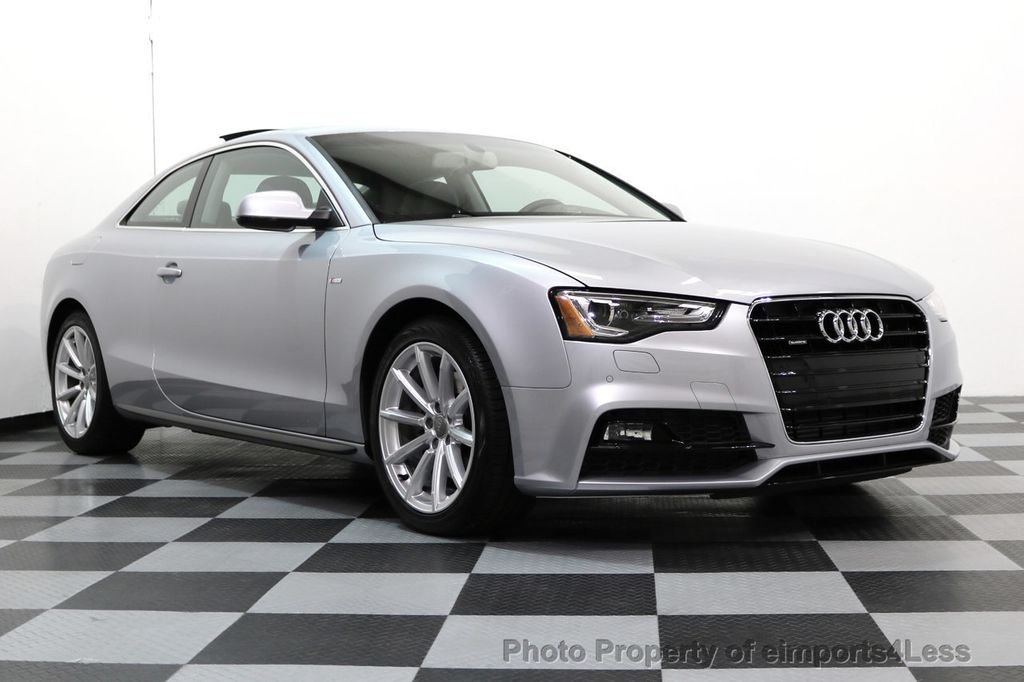 2017 used audi a5 coupe certified a5 2.0t quattro sport awd tech