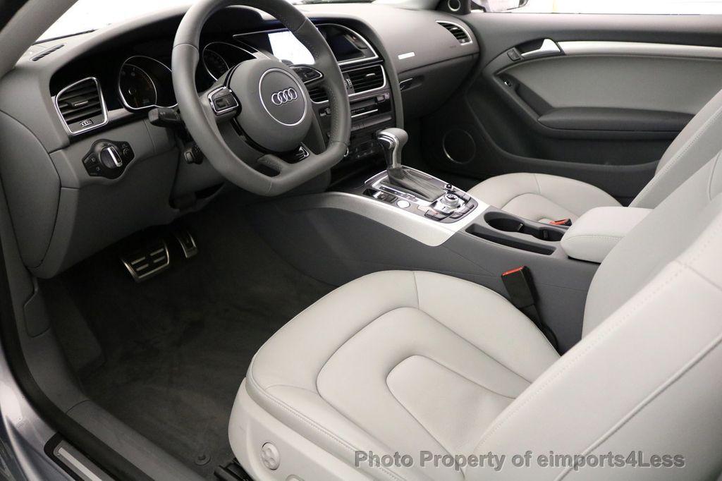 2017 Audi A5 Coupe CERTIFIED A5 2.0T Quattro Sport AWD TECH CAMERA NAVI - 17397401 - 7