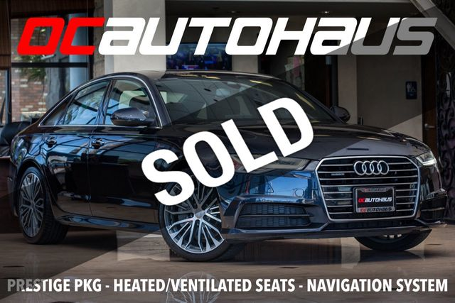 2017 Used Audi A6 3 0 TFSI Prestige quattro AWD at OC Autohaus Serving  Westminster, CA, IID 19054130