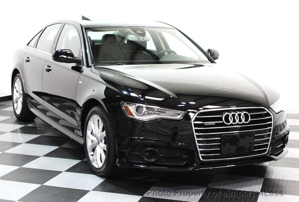 2017 Audi A6 CERTIFIED A6 2.0t Quattro Premium Plus DRIVER ASSIST    16381226   15