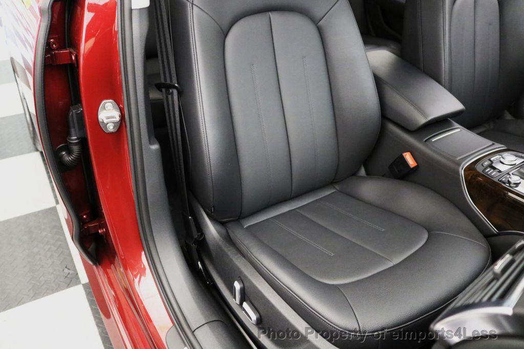 2017 Audi A6 CERTIFIED A6 2.0t Quattro Premium Plus DRIVER ASSIST NAVI - 17234511 - 23