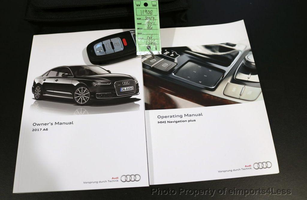 2017 Audi A6 CERTIFIED A6 2.0t Quattro Premium Plus DRIVER ASSIST NAVI - 17234511 - 40