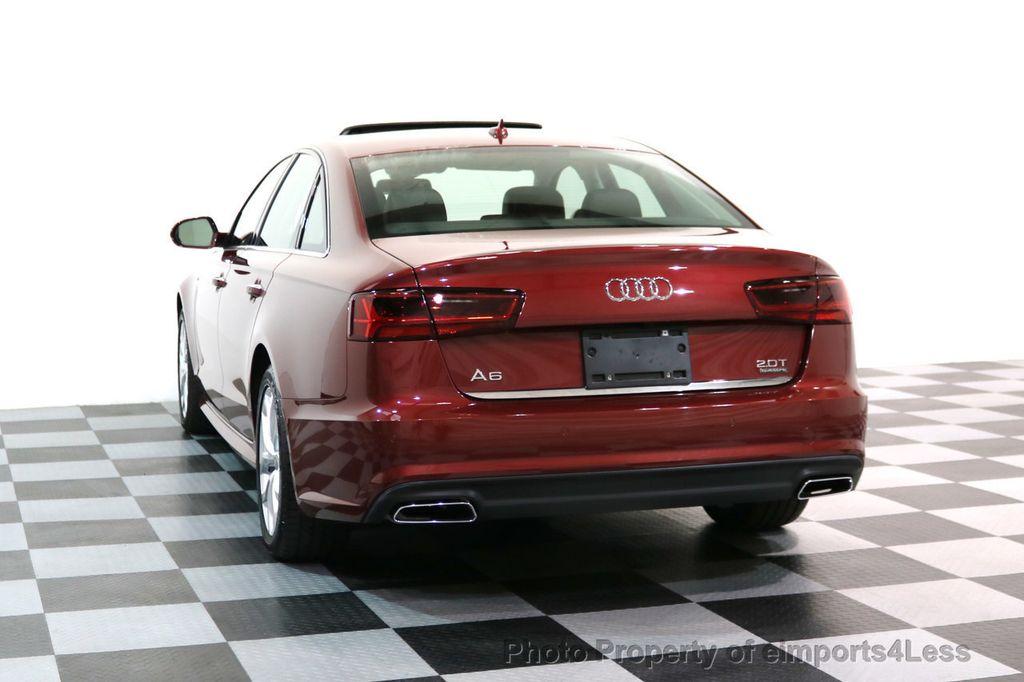 2017 Audi A6 CERTIFIED A6 2.0t Quattro Premium Plus DRIVER ASSIST NAVI - 17234511 - 54
