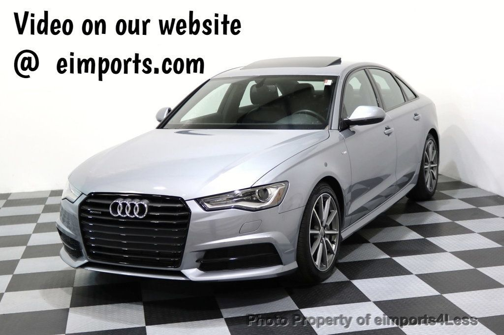 2017 Audi A6 CERTIFIED A6 2.0T Quattro Sport Package AWD CAMERA NAVI - 17395744 - 0
