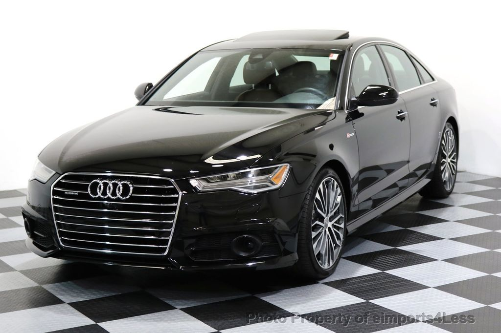 2017 Audi A6 CERTIFIED A6 3.0t QUATTRO S-Line Sport AWD Driver Assist - 17028259 - 0