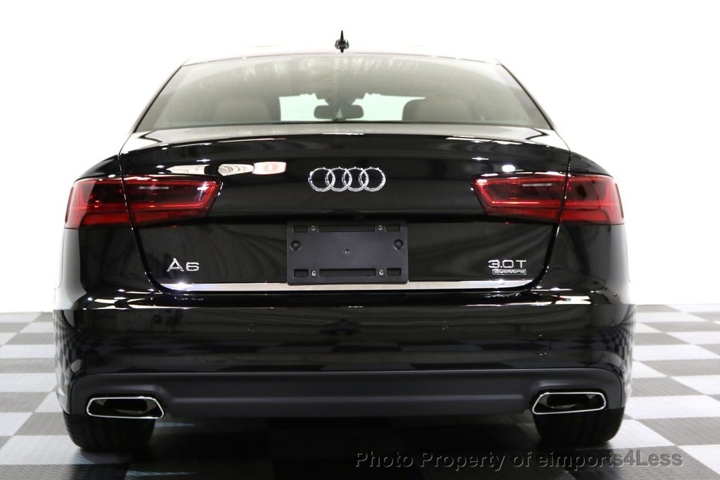 2017 Audi A6 CERTIFIED A6 3.0t QUATTRO S-Line Sport AWD Driver Assist - 17028259 - 16