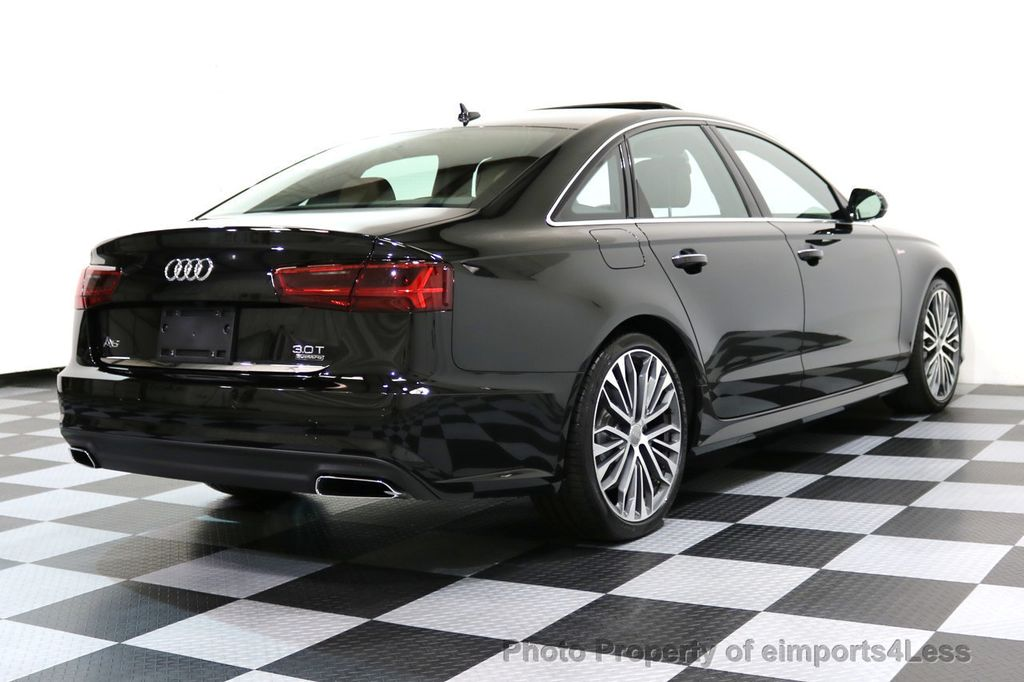 2017 Used Audi A6 Certified A6 3 0t Quattro S Line Sport
