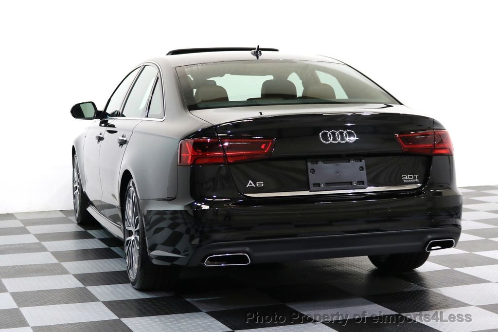 2017 Audi A6 CERTIFIED A6 3.0t QUATTRO S-Line Sport AWD Driver Assist - 17028259 - 31
