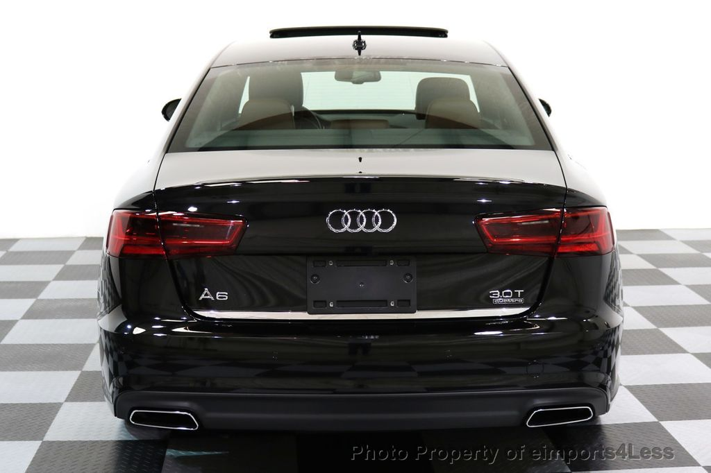 2017 Audi A6 CERTIFIED A6 3.0t QUATTRO S-Line Sport AWD Driver Assist - 17028259 - 32