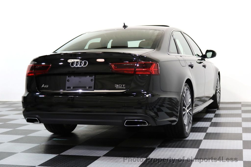 2017 Audi A6 CERTIFIED A6 3.0t QUATTRO S-Line Sport AWD Driver Assist - 17028259 - 45