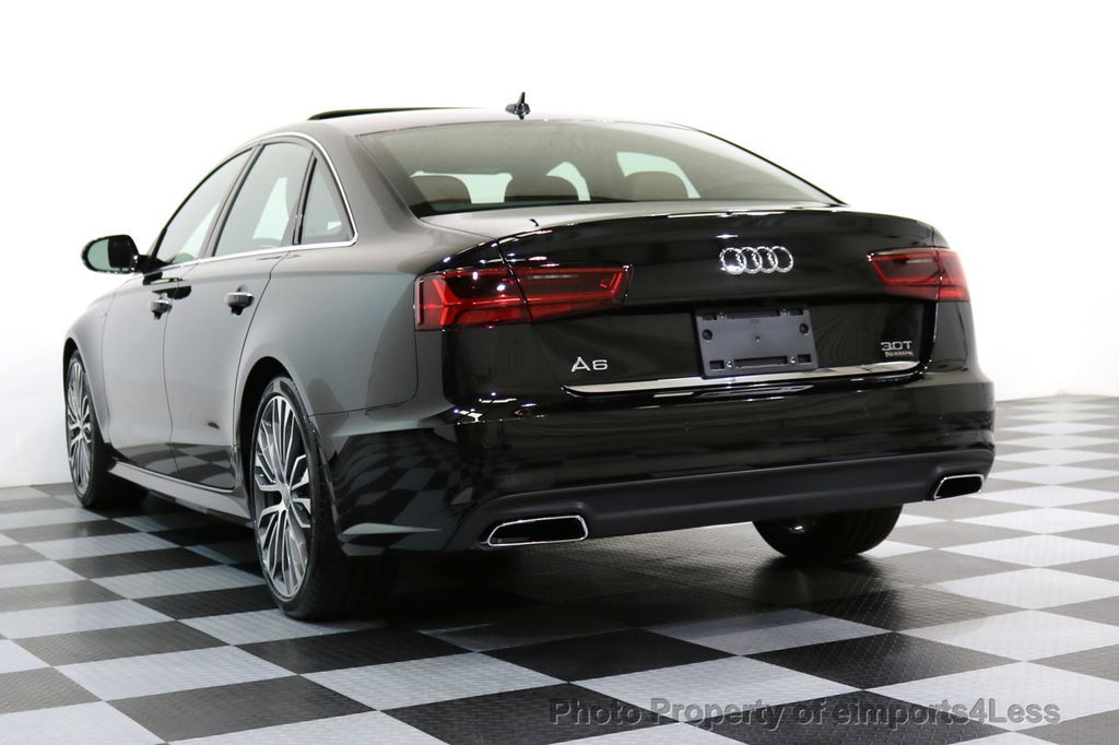 2017 Audi A6 CERTIFIED A6 3.0t QUATTRO S-Line Sport AWD Driver Assist - 17028259 - 54