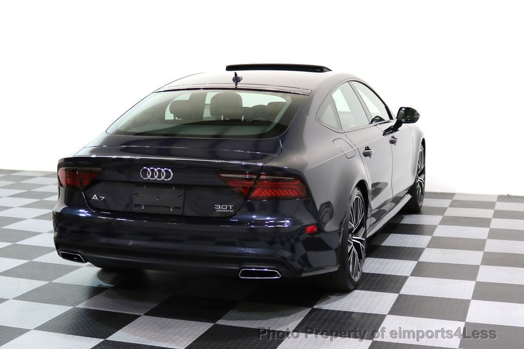 2017 Audi A7 CERTIFIED A7 3.0T Quattro PRESTIGE Night Vision ACTIVE CRUISE - 17334091 - 36