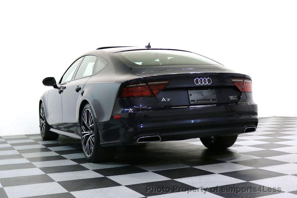 2017 Audi A7 CERTIFIED A7 3.0T Quattro PRESTIGE Night Vision ACTIVE CRUISE - 17334091 - 50