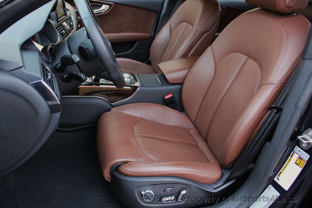 2017 Audi A7 CERTIFIED A7 3.0T Quattro PRESTIGE Night Vision ACTIVE CRUISE - 17334091 - 56