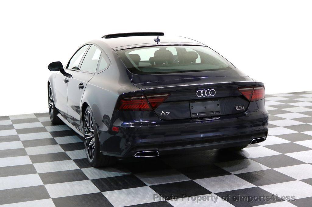 2017 Audi A7 CERTIFIED A7 3.0T Quattro PRESTIGE Night Vision ACTIVE CRUISE - 17334091 - 59